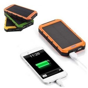 Roaming Solar Power Bank Phone or Tablet Charger